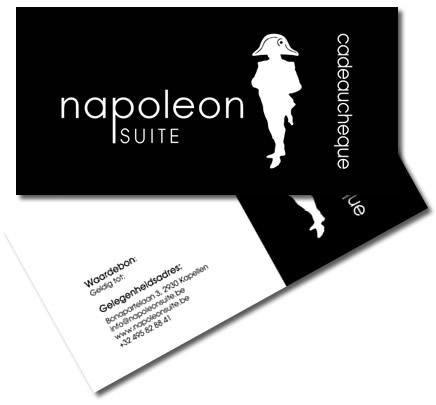 Geef een origineel geschenk met de Napoleon Suite Cadeaubon